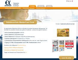 advanzia mastercard gold kreditkarte testbericht und. Black Bedroom Furniture Sets. Home Design Ideas