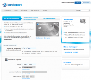 barclaycard visa kreditkarte testbericht und erfahrungen 2019. Black Bedroom Furniture Sets. Home Design Ideas